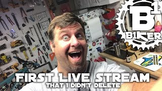 First Live Stream I didn't delete - B1KER...