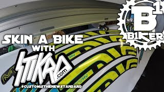 Skin a Bike with Stikrd - Stikrd Headquarters...