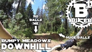 Bumpy Meadows Downhill Trail - Sly Park -...