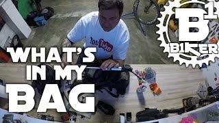 What's in my Bag? - Sacramento, Ca - Biking