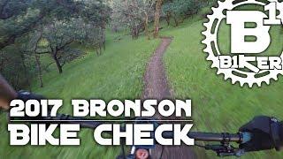 2017 Santa Cruz Bronson Bike Check - Rockville...