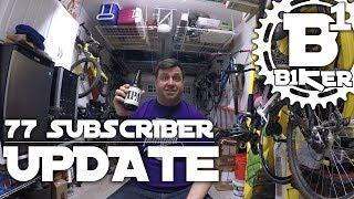 77 Subscriber Update - Sacramento, Ca - Biking