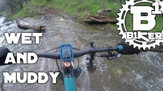 Wet and Muddy - Salmon Falls Trail - El Dorado...
