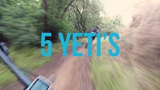 5 Yeti's walked into a park // Buddies SB6C...