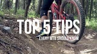 Top 5 tips every mountain biker should know