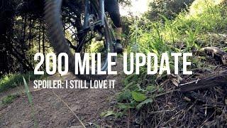 Yeti SB4.5c Build - Part 7 - 200 mile update...