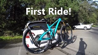 Yeti SB4.5c Build - Part 6 - First Ride...