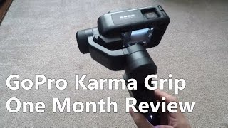 Gopro Karma Grip Follow Up Review (1 month)