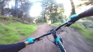 JMP Chaparral Trail Raw Gimbal Footage - Yeti SB5c