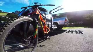 A beautiful day mountain biking at Crockett Hills