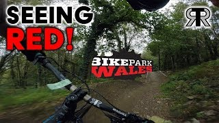 SEEING RED | Mountain Biking at BikePark Wales