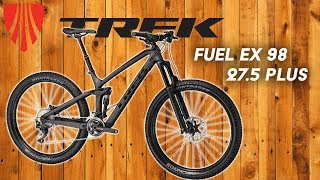 Trek Fuel Ex 98 27.5 Plus Test Ride