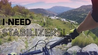 I NEED STABILISERS | Mountain Biking in...