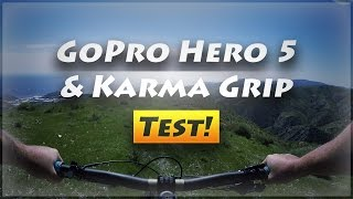 GoPro Hero 5 & Karma Grip Mountain Biking...