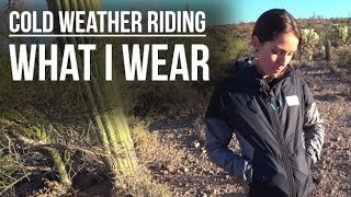 Cold Weather Riding: What I Wear - Dusty Betty...