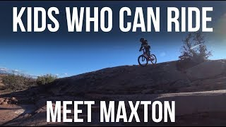 Kids Who Can Ride: Meet Maxton - Dusty Betty...