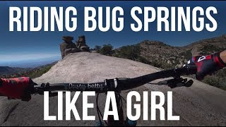 Riding Bug Spring Like a Girl - Dusty Betty...