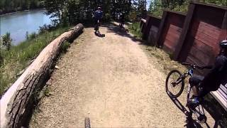GoPro: Mountain Biking in Patricia Ravine, May...