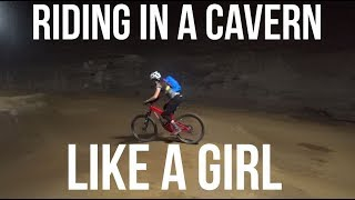 Riding in a Cavern Like a Girl - Dusty Betty...
