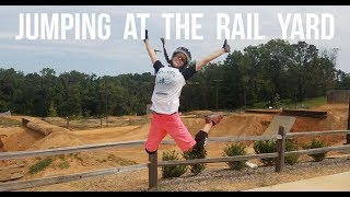 Jumping at The Rail Yard - Dusty Betty Women's...