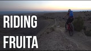 New Brake Pads and Riding Fruita - Dusty Betty...