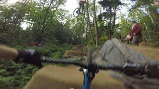 Shire Jam, BMX trails POV dirt jump line