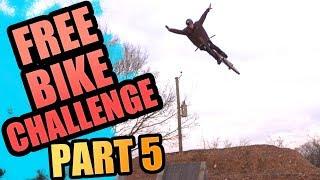 THE FREE BIKE CHALLENGE // 5 // BIG TRICKS