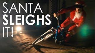 Santa Sleighs It!