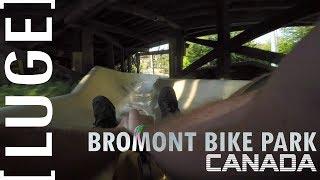 Bromont Luge POV - Quebec Canda