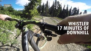 Whistler DH | 17 Minute Downhill Track |...