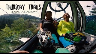 Skyline Bike Park Queenstown - Mountain Bike POV