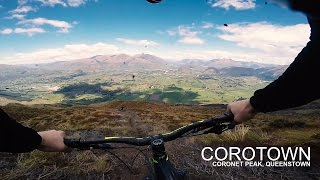 CoroTown Mountain Bike Trail - Coronet Peak,...