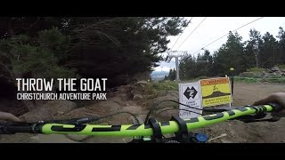 Throw the goat! Christchurch Adventure Park