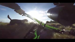 Zhi Yun Rider-M 3-axis gimbal Downhill MTB testing