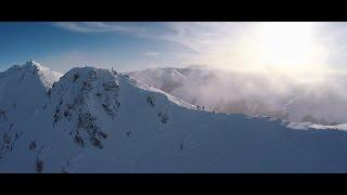 Droneski: Powder skiing at Broken River -  New...