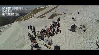 Mt Hutt NZ Sochi Olympics Snowboard Superpipe...
