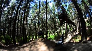 DH Mountain Bike BACKFLIP fail