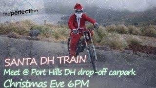 Santa Downhill Mountain Bike Train New Zealand