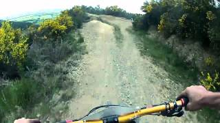 MT Hutt DH Race Gravity Canterbury 2012 Go Pro HD
