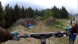 Wanaka Urban Downhill 2012 Go Pro HD2 Chesty