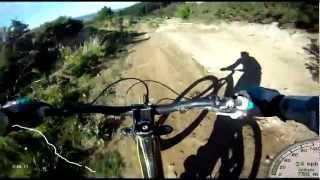 Mt Hutt DH Chest Go Pro GPS - Single Track,...