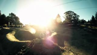 MTB Pump Track Victoria Park Christchurch - Go...