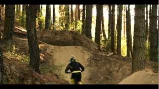 BACKFLIP on Downhill Mountain Bike