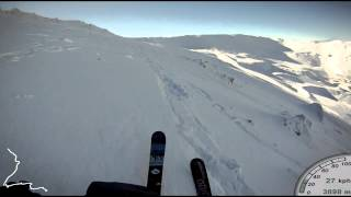Fischer Watea 88 - Go Pro HD - Mt Hutt -...