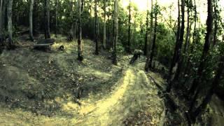 Nikon D3200 720p Camera test Downhill Mountain...