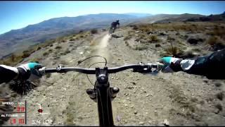 Snow Park Downhill Mountain Bike Track -...
