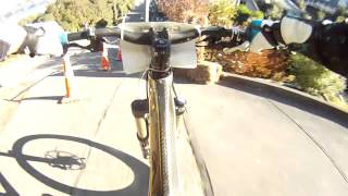 Lyttelton Urban Downhill 2012 - Race Run Go Pro HD