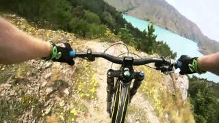 DH MTB Lake Benmore 2011 Go Pro HD