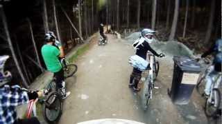 Downhill mountain biking - Skyline Gondola...