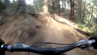 Mt Hutt Downhill mountain biking Go Pro HD